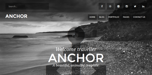 6 parallax drupal themes potent pages