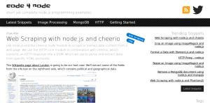 Node js Website Crawler Tutorials | Potent Pages