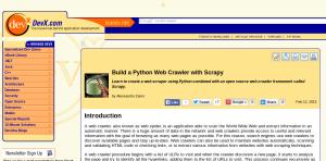 Scrapy Website Crawler Tutorials | Potent Pages